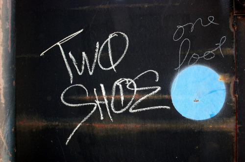TWO SHOE by robswatski on Flickr.