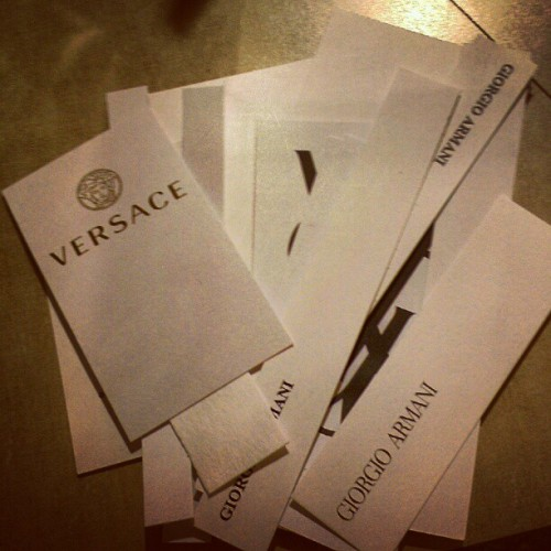 Cologne samples! #macy's #versage #giorgio #armani #cologne #sample  (Taken with Instagram at Macy's)