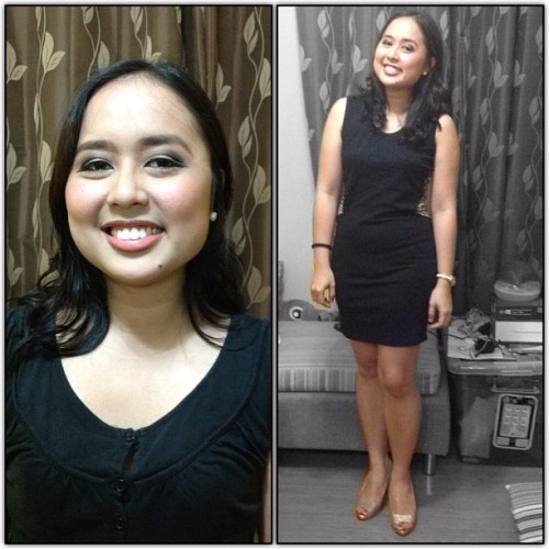 Ate D was here!!! :D Looking fab and ready for her party! :) #makeup #instagram #profile #wholebody #pretty (Taken with Instagram)