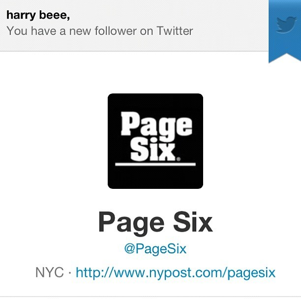 hey @pagesix thanks for the follow no thanks for the incomplete article