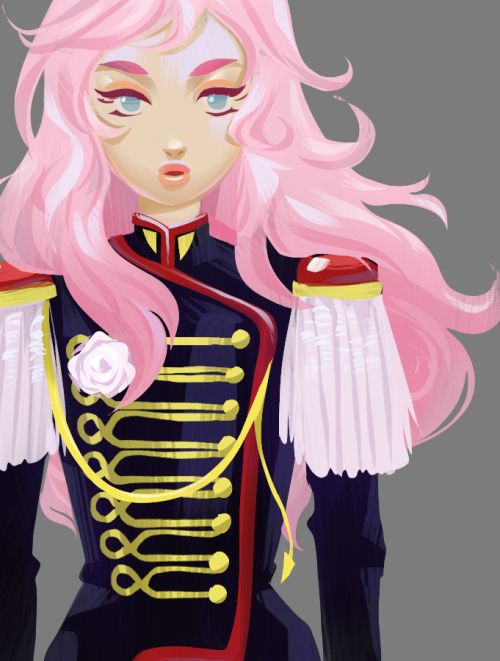 I've been watching Utena again and it is still amazing! Some doodle fanart…. I got some interesting ideas for Anthy.