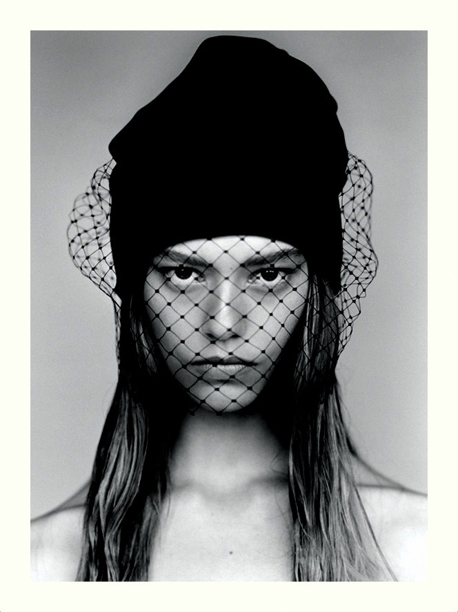 Ondria Hardin in Self Service N° 36 by Alasdair McLellan