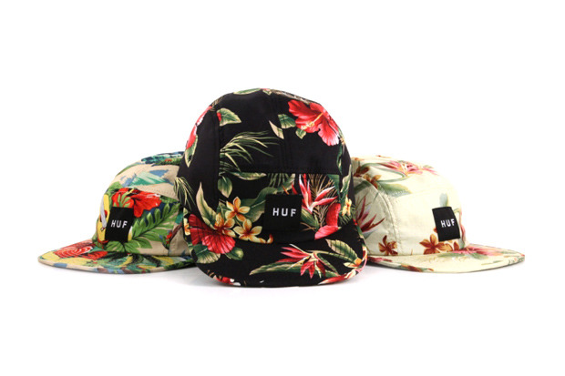 thoughtsandviews:  HUF 2012 Hawaiian Print Caps Damn I want.