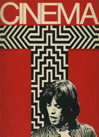 Cinema, Fall 1970On the cover: Mick Jagger Source: The Rolling Stones Yesterday's Papers See some classic Mick Jagger photographs at Boom Underground, who is posting them as part of a month-long series on Hunks We Were Hot For, male heart-throbs from the 1960s & 70s.
