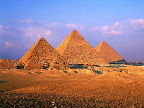 See the Pyramids of Giza