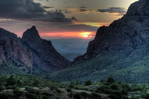 Big Bend National Park in Texas. This is just incredibly lovely - a great reminder of what a truly great state this is. <3