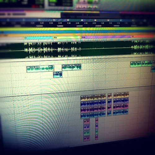 #editing #vox #pt9 #mixing #producedbythevamp (Taken with Instagram)