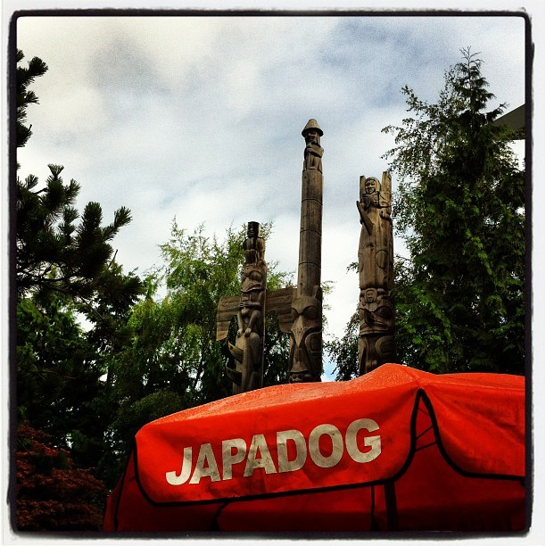 bertha0210:  #japadog in #vancouver (Taken with Instagram at Japadog (At YVR))