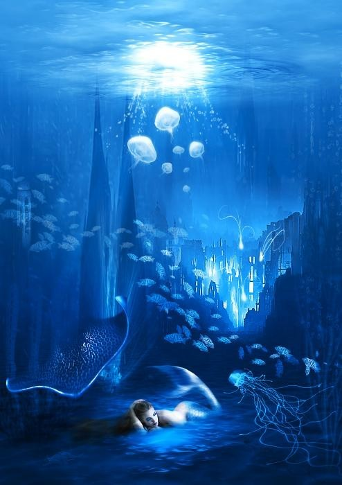 le-piu-belle:   Underwater World by~ Svetlana Sewell