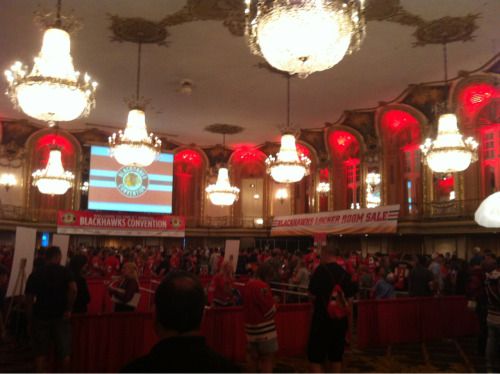 Let the autograph lines begin… #BHC2012