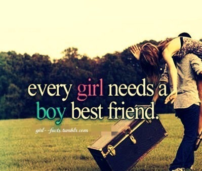 and a boyfriend that doubles as your best friend