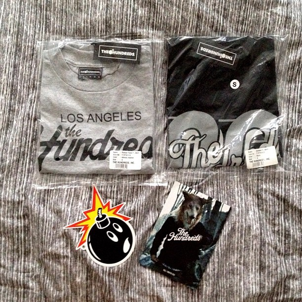 New fits. My mom spoils me! #thehundreds #ochenta #foreverteam #skating (Taken with Instagram)