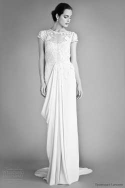 helloweddingdiary:    Temperley London Fall 2012 bridal collection