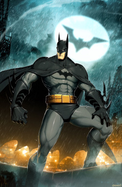 comicbookdeviant:  Batman // Art by Gonzalo Ordóñez Arias