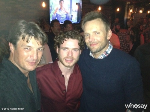 bohemea:  Nathan Fillion, Richard Madden & Joel McHale at Comic-Con.
