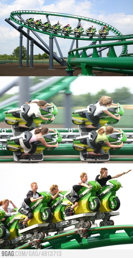 Awesome Roller Coaster as Biking! from 9GAG by 9GAG Reader (9g.re)