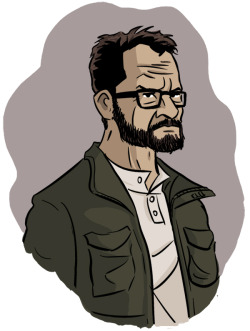 chrisdohertyart:  Happy 52nd, Walter White.