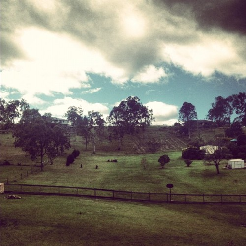 bexistentialisms:  The scenery #queensland #country #hills #australia  (Taken with Instagram)