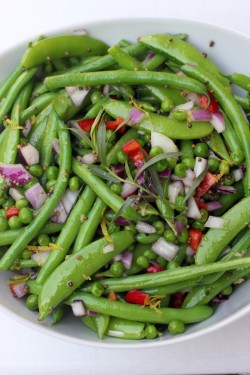 beautifulpicturesofhealthyfood:  Green Bean Salad with Mustard Seeds and Tarragon…RECIPE