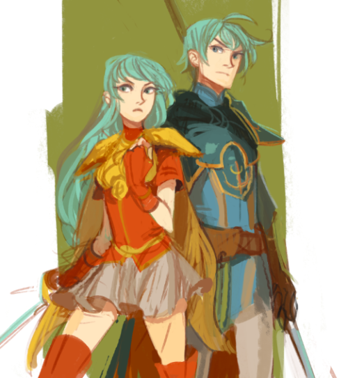 Eirika and Ephraim by ~m-lin