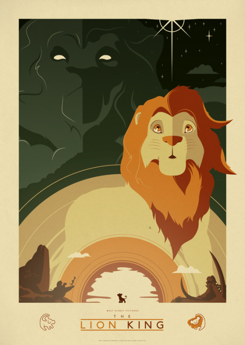 fuckyeahmovieposters:  The Lion King by Jonny Eveson