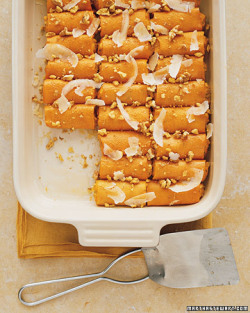 Sweet Potato Cannelloni The 'cannelloni' are made with sweet potatoes. Oh. Wow. Oh man<3