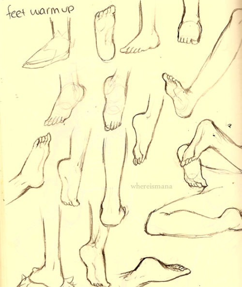 feet are my weakness so I decided to do some practice! sorry not homestuck =/ you can pretend they're John's feet.