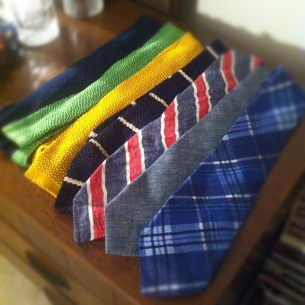 thingsofinterest:  Tie game strong (Taken with Instagram)
