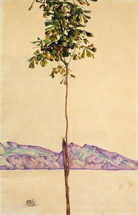 Egon Schiele, Little Tree
