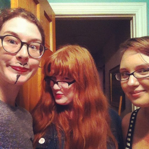 soul patches and hair capes #snapple (Taken with Instagram)