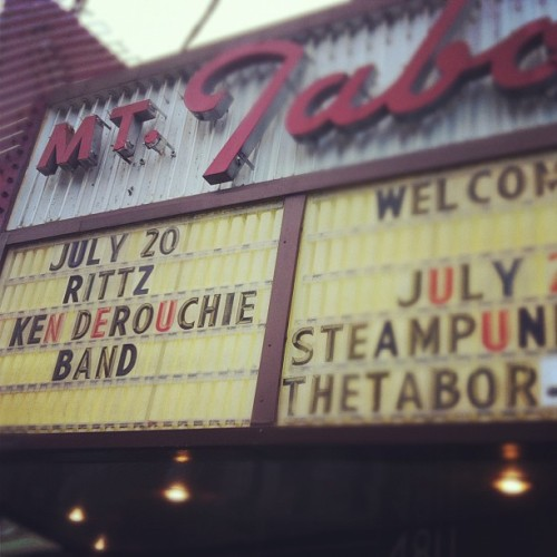 MT TABOR THEATER PORTLAND OR #REVIVALTOUR (Taken with Instagram)