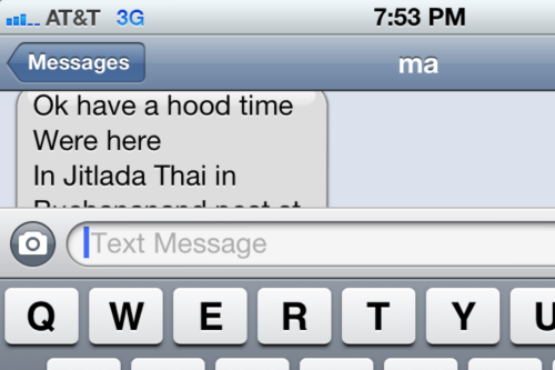 HOOD TIME  THX MOM!!!!!