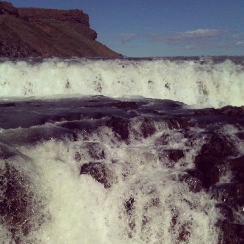 @Gullfossen!! #iceland #waterfall #sky #nature #wounder #fantastic #wow #lovely #amazing #gorgeous #instagood #instabeauty #instagramhub #picoftheday #bestpicture #instagramhub #iceland  (Taken with Instagram)