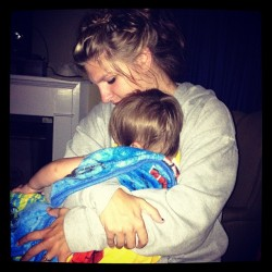 #mommy #baby #snuggles (Taken with Instagram)