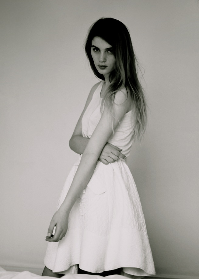 moldavia:  Nancy Williams in Union #1 S/S 2012 by Clare Shilland