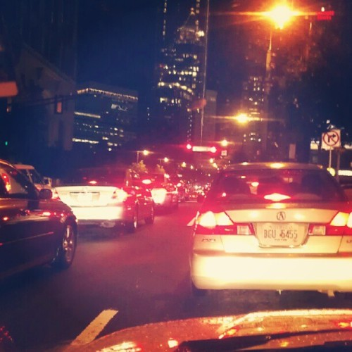 Midtown, Atlanta Friday night #Midtown #ATL #Atlanta  (Taken with Instagram)