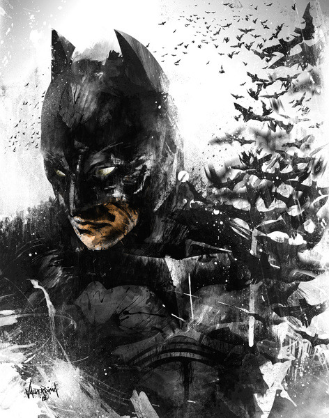 bitchville:  The Dark Knight Rises… So Does His Bats by Fresh Doodle