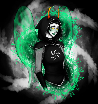kupoedcat:  i tend to draw kanaya when i want to end an art block rumminov's god tier design btw  omfg kupo this is really gREAT