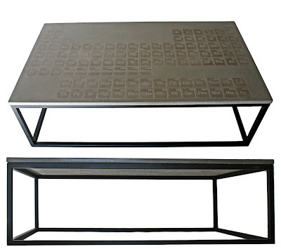 Periodic Concrete Coffee Table