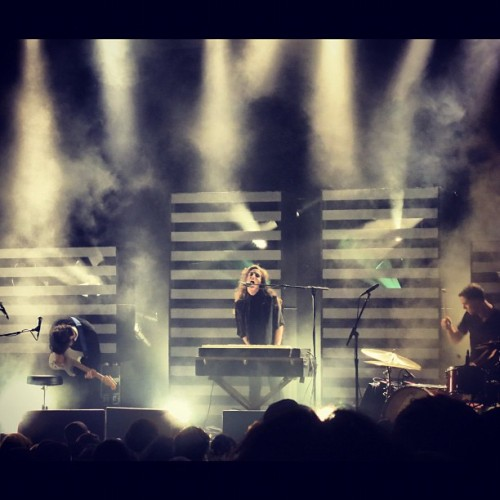 Beach House @ Newport Music Hall  (Taken with Instagram)