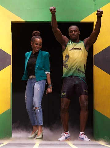 Usain Bolt Unveils Jamaican Olympic Kit Designed by Bob Marley's Daughter