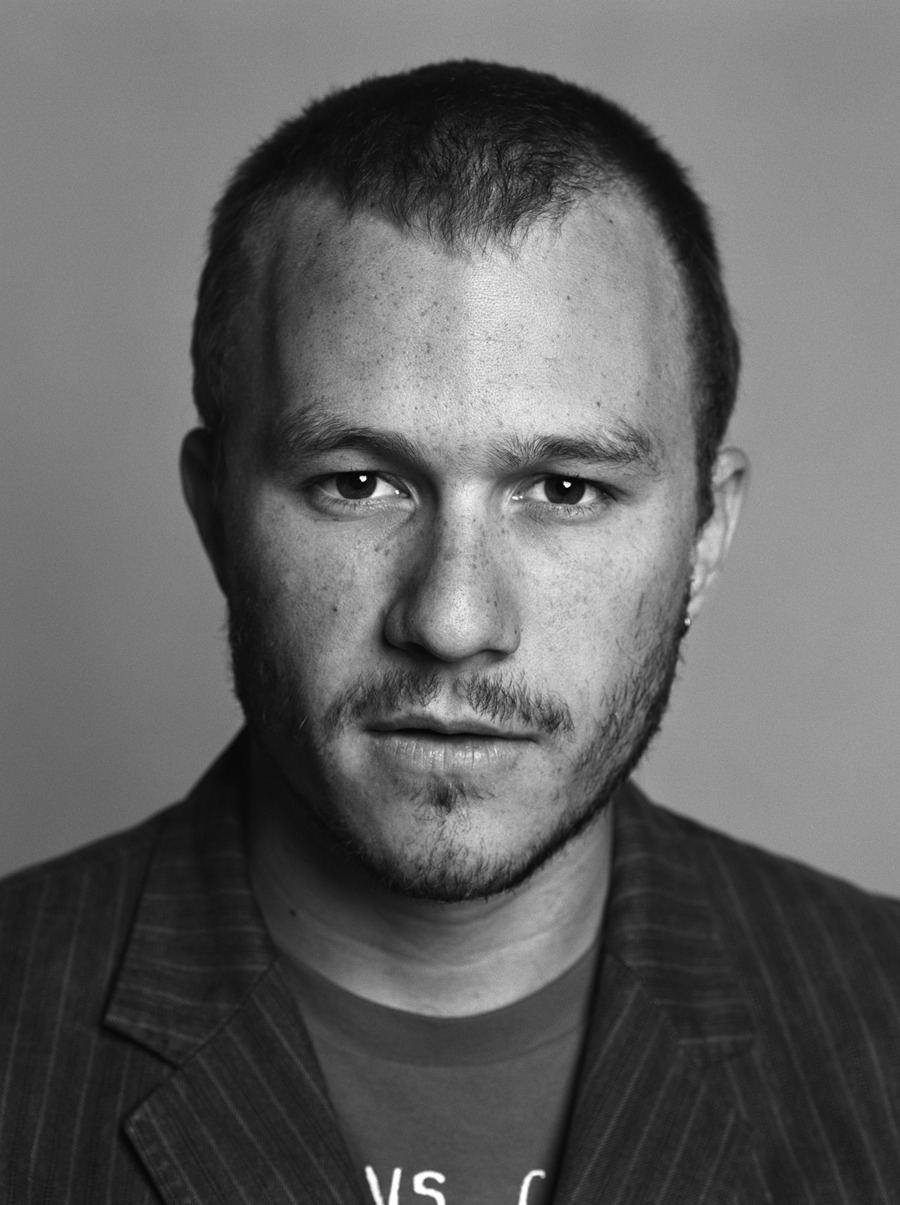 bohemea:  Heath Ledger by Mark Abrahams