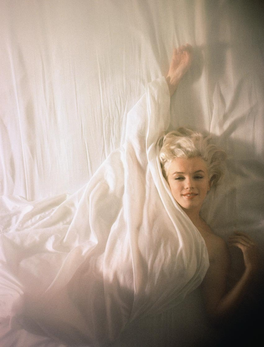 Marilyn Monroe photographed by Douglas Kirkland in 1961