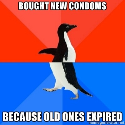 thedailymeme:  At least I looked cool buying them.