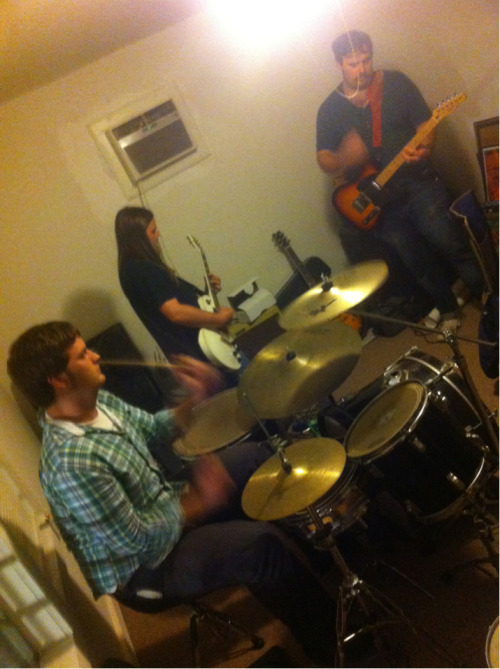 Friday night jam in the dinning room