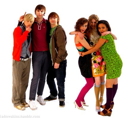 I freaking love Skins!