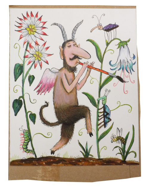 carnetimaginaire:  Axel Scheffler, Irresistible music