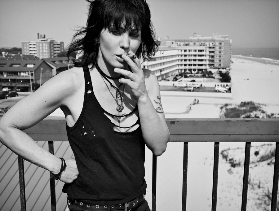 Joan Jett photographed by Mark Abrahams