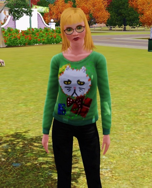 Probably the most accurate sim I've ever made of myself…
