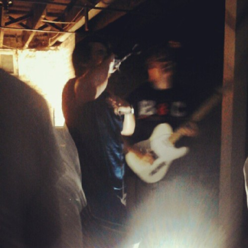 Lighthouses #houseshow #hardcore #nebraska #omaha  (Taken with Instagram)